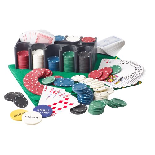 Superior™ 2-in-1 Poker Game Combo Set