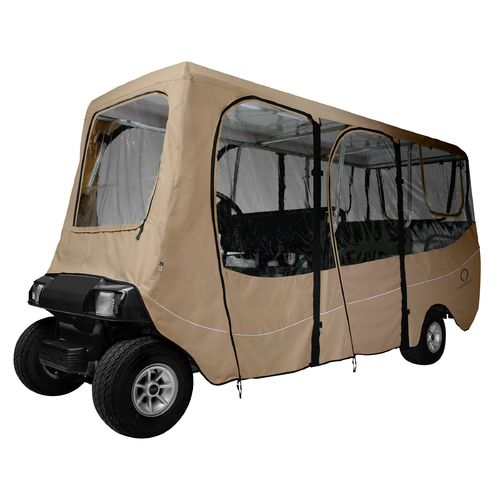 Classic Accessories Deluxe Extra-Long Roof Golf Cart Enclosure