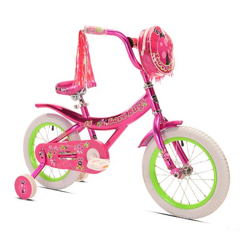 "KENT Girls' Love Bug 14"" Bicycle"
