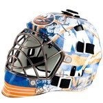 Franklin NHL Team Series New York Islanders Mini Goalie Mask - view number 1
