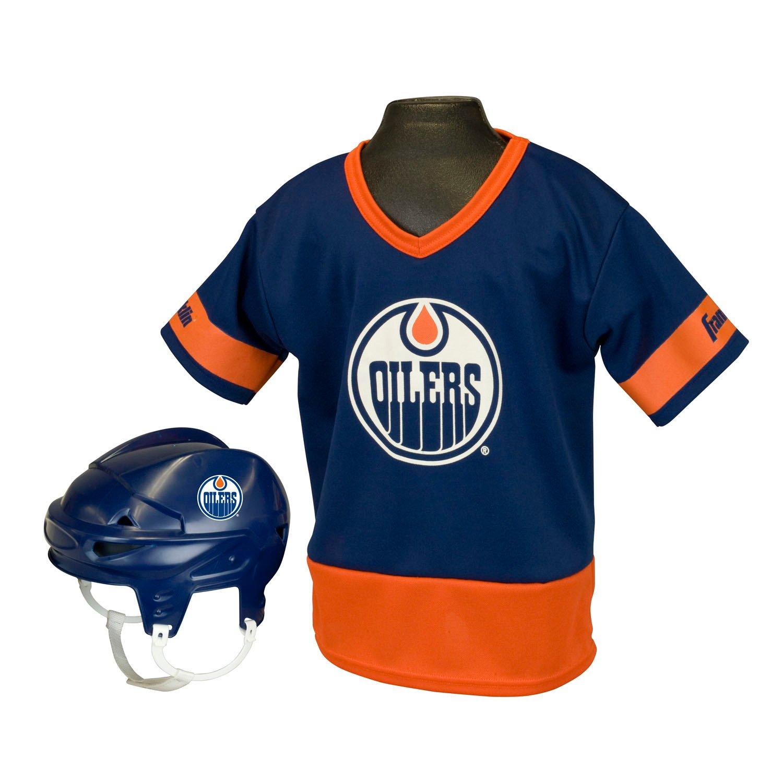 Cheap Franklin Kids' Edmonton Oilers Uniform Set for sale