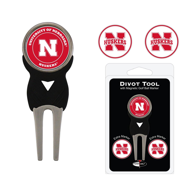 Team Golf University of Nebraska Divot Tool and