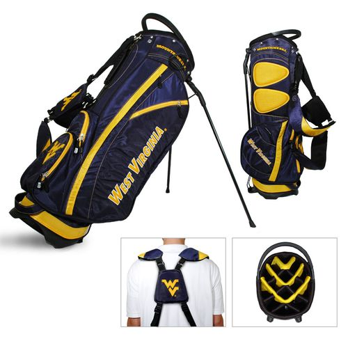 Team Golf West Virginia University Fairway Stand Golf Bag