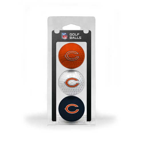 Team Golf Chicago Bears Golf Balls 3-Pack - view number 1