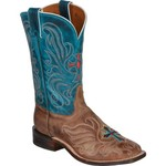 Tony Lama Women's Vintage Cow with Painted Cross San Saba Western Boots - view number 2