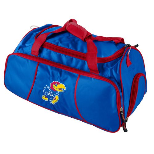 Logo™ University of Kansas Athletic Duffel Bag - view number 1