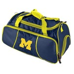 Logo University of Michigan Athletic Duffel Bag