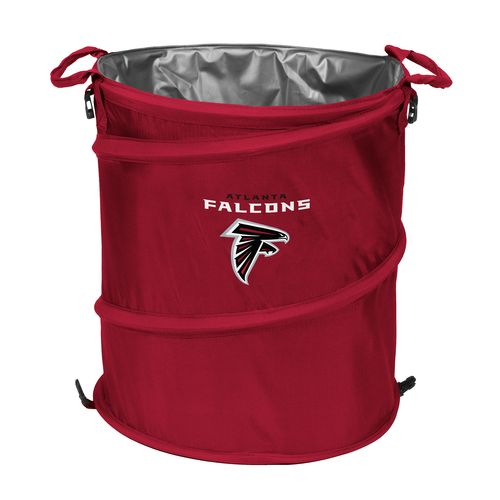 Logo™ Atlanta Falcons Collapsible 3-in-1 Cooler/Hamper/Wastebasket