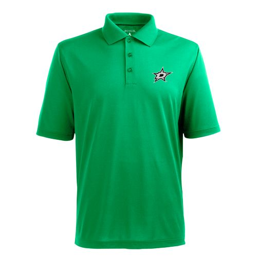 Antigua Men's Dallas Stars Piqué Xtra-Lite Polo Shirt