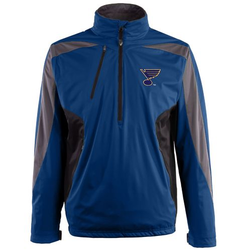 Antigua Men's St. Louis Blues Discover 1/2 Zip Pullover