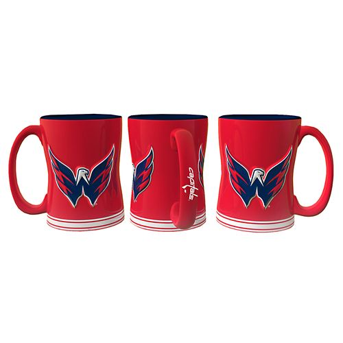 Boelter Brands Washington Capitals 14 oz. Relief Mugs 2-Pack
