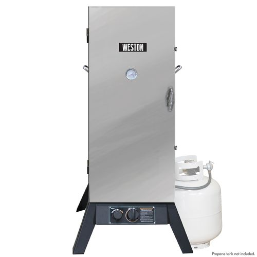 "Weston 36"" Stainless Steel Outdoor Propane Smoker"