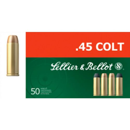 Display product reviews for Sellier & Bellot .45 Long Colt 250-Grain Lead Flat-Nose Centerfire Handgun Ammunition
