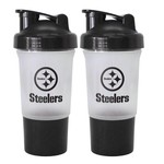 Boelter Brands Pittsburgh Steelers 16 oz. Protein Shakers 2-Pack