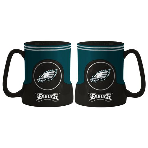 Boelter Brands Philadelphia Eagles Gametime 18 oz. Mugs 2-Pack