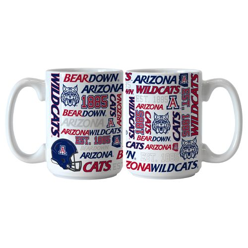 Boelter Brands University of Arizona Spirit 15 oz. Coffee Mugs 2-Pack