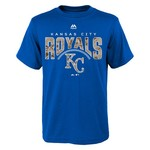 Majestic Boys' Kansas City Royals Digi Camo Short Sleeve T-shirt