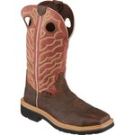 Justin Men's Stampede™ Square Steel Toe Work Boots - view number 2