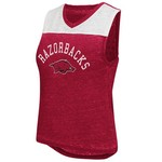 Colosseum Athletics Women's University of Arkansas Kiss Cam Tank Top