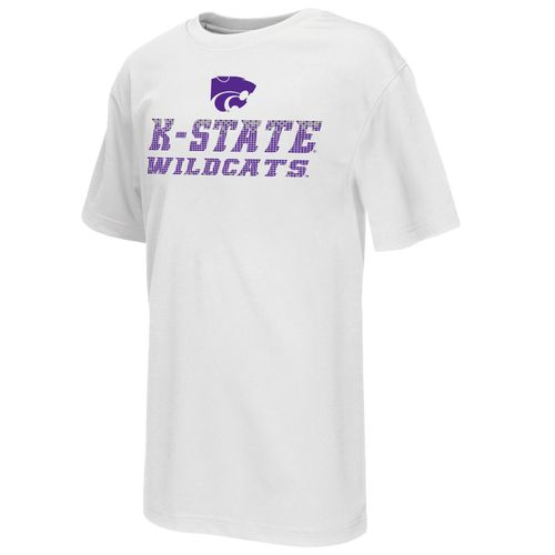 Colosseum Athletics Boys' Kansas State University Pixel Short Sleeve T-shirt