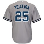 Majestic Men's New York Yankees Mark Teixeira #25 Cool Base® Road Jersey