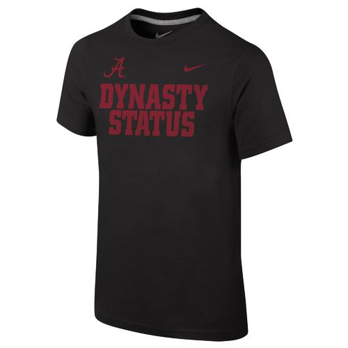 Nike™ Boys' University of Alabama Dynasty Core Short Sleeve T-shirt
