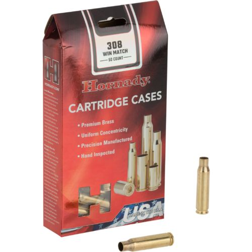 Hornady .308 Winchester Match™ Unprimed Cases - view number 1