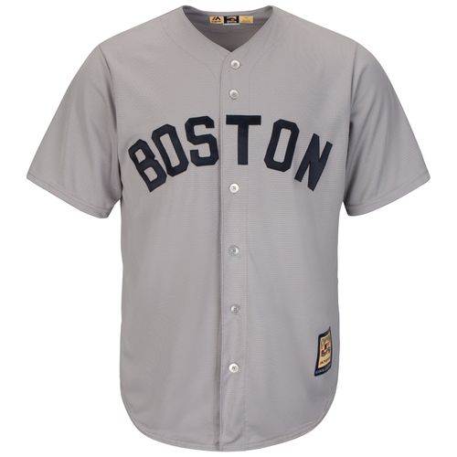 Majestic Men's Boston Red Sox Cooperstown Cool Base 1969 Replica Jersey - view number 1
