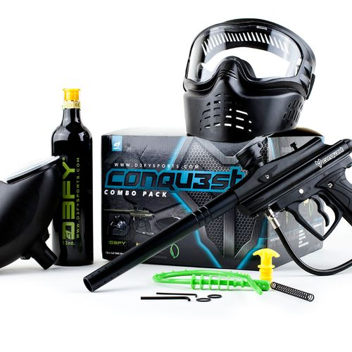 D3FY Conqu3st Paintball Marker Kit