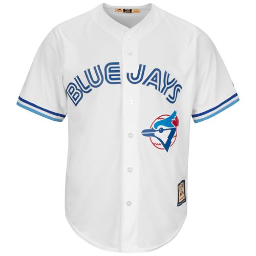 Majestic Men's Toronto Blue Jays Roberto Alomar #12 Cooperstown Cool Base Replica Jersey - view number 2