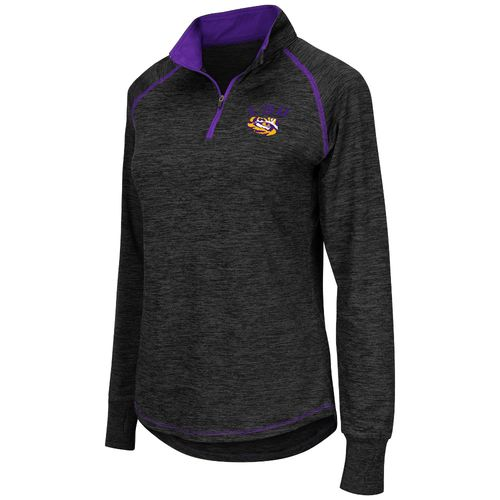 Colosseum Athletics™ Women's Louisiana State University Bikram 1/4 Zip Pullover