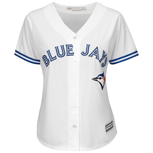Majestic Women's Toronto Blue Jays Russell Martin #55 Cool Base Replica Jersey - view number 2