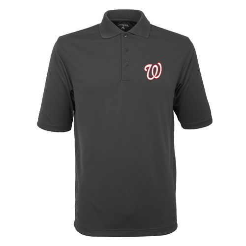 Antigua Men's Washington Nationals Exceed Polo Shirt - view number 1