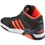adidas Kids' Neo BB9TIS Mid-Top Basketball Shoes - view number 3