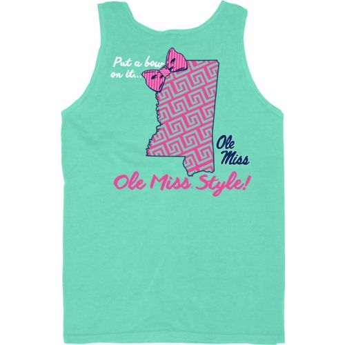 Blue 84 Women's University of Mississippi Tied Together Tank Top