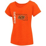 Colosseum Athletics Girls' Oklahoma State University T-shirt