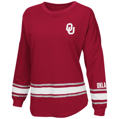 Colosseum Athletics™ Women's University of Oklahoma All Around Oversize Long Sleeve T-shirt