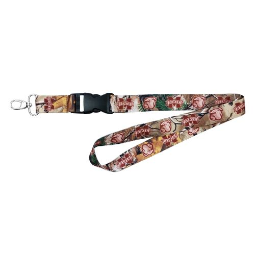 NCAA Mississippi State University Realtree Xtra® Lanyard