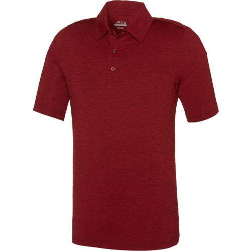 BCG Men's Golf Tru-Wick Heather Short Sleeve Polo Shirt