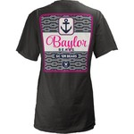 Three Squared Juniors' Baylor University Knotty Tide T-shirt
