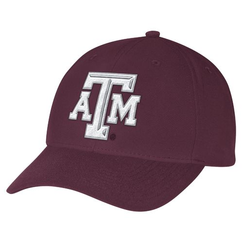 adidas™ Men's Texas A&M University Structured Adjustable Cap
