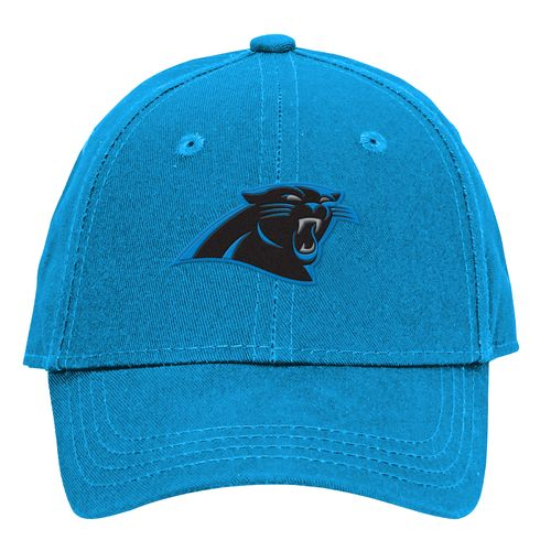 NFL Boys' Carolina Panthers Basic Structure Adjustable Cap