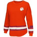 Colosseum Athletics™ Women's Clemson University All Around Oversize Long Sleeve T-shirt