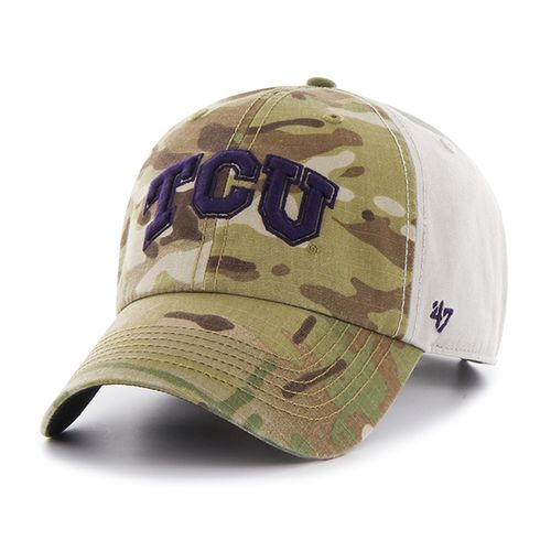 '47 Texas Christian University Sumner Camo Cap