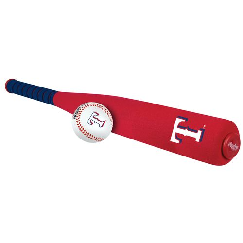 Jarden Sports Licensing Texas Rangers Foam Bat and Ball Set