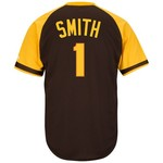 Majestic Men's San Diego Padres Ozzie Smith #1 Cool Base Cooperstown Jersey