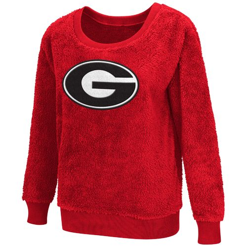 G-III for Her Women's University of Georgia Sherpa Guide Pullover