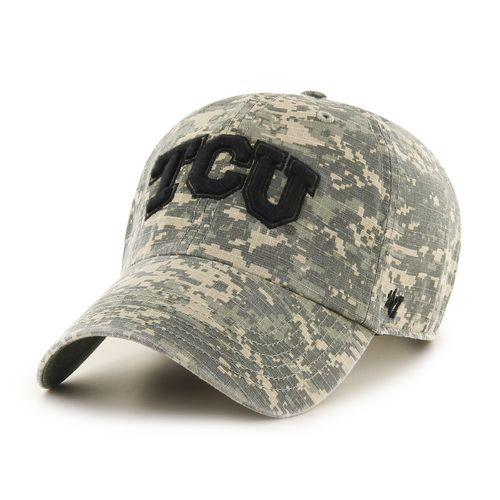 '47 Texas Christian University Officer Camo Clean-Up Cap