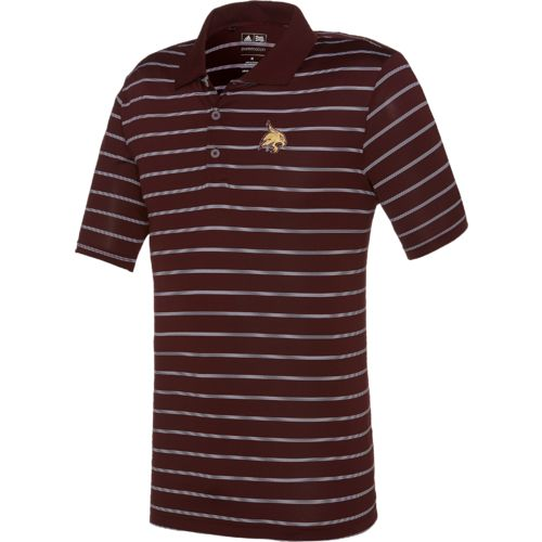 adidas™ Men's Texas State University Striped Polo Shirt