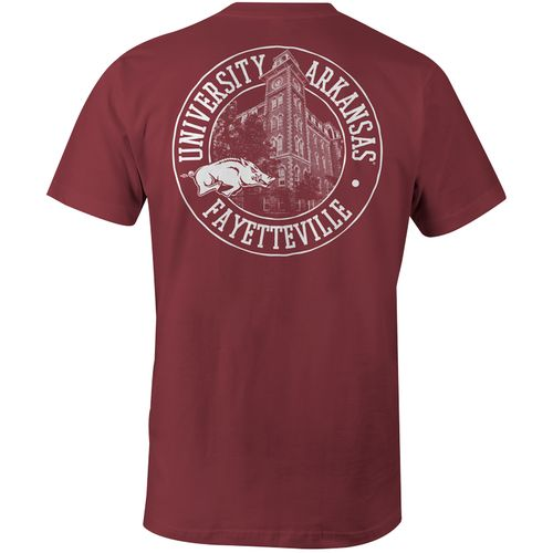 Image One Men's University of Arkansas Comfort Color T-shirt